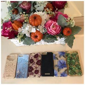 Lot of iPhone cases for 6plus 7plus 8plus